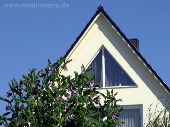Modernes Einfamilienhaus - Giebel