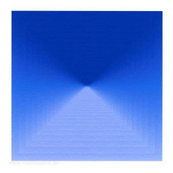 Anita Helmy 1, Netherlands, Blue, Digital Painting, 13 x 13 cm, 2013