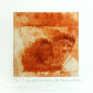 Eleanora Hofer 2, South Africa, Fugitive Memory V, Solar Etching, Blind Embossing, 10,5 x 10,5 cm, 2012