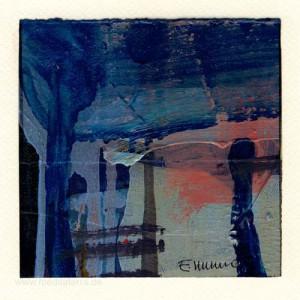 Emilio Carrasco 3, Mexico, No Title 3, Oil Paper, 13 x 13 cm, 2015