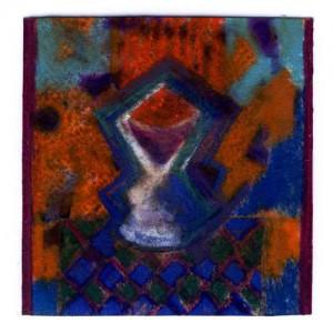 Fausto de Marinis 3, Italy, Pagan Altar, Mixed Technique, 13,5 x 13 cm 2015