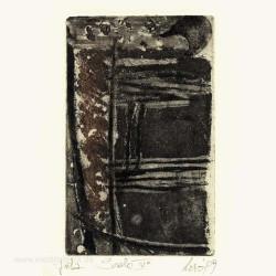 Giuseppina Lesa 3, Italy, Staircase IV, Etching, Aquatint, 9 x 14 cm, 2009