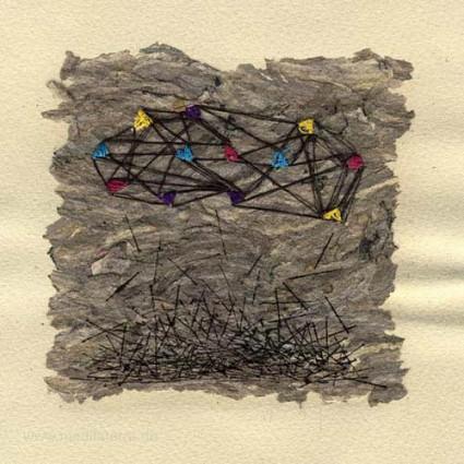 Jennifer d'Entremont 1, Canada, Release, Mixed Media, 12 x 12 cm, 2015