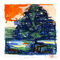 Joseph Ryan 2, United Kingdom, BlueTree, WaterColour, 12,5 x 12,5 cm, 2015