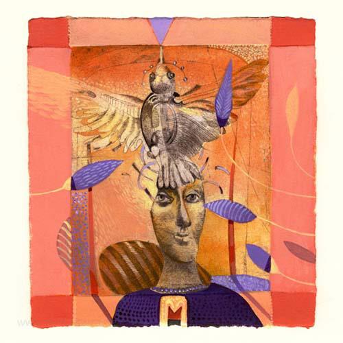 Manya Vaptsarova 3, Bulgaria, Dream, Mixed Media, 12,5 x 13,5 cm, 2015