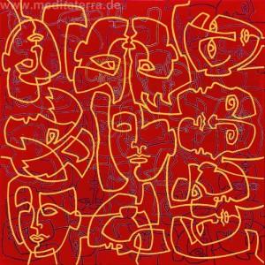 """""""Goldene Masken"""" - Kurt Ries"""