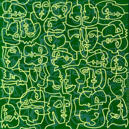 Goldene Masken - Kurt Ries