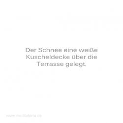 Haiku-Gedicht, Weiße Terrasse, Gabriele Walter