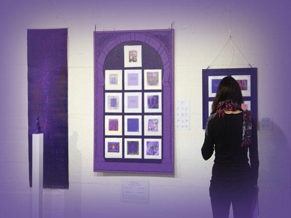 Violett - Kunstmeditation