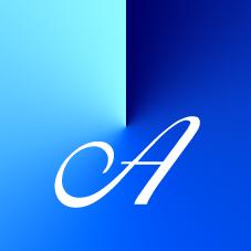 Vokal A - Farbe Blau