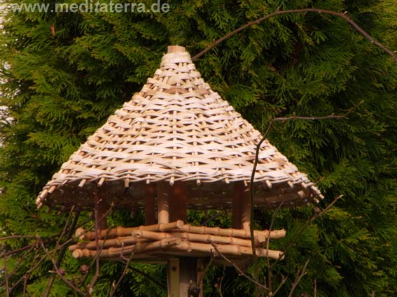 Vogelhaus aus Bambus