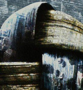 artist Kinichi Maki, Japan, digital print