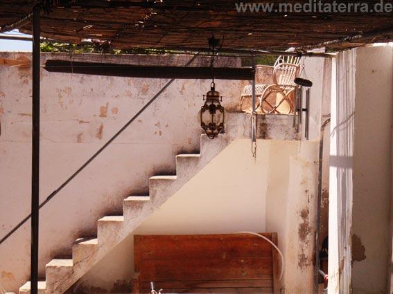 Treppe im Süden