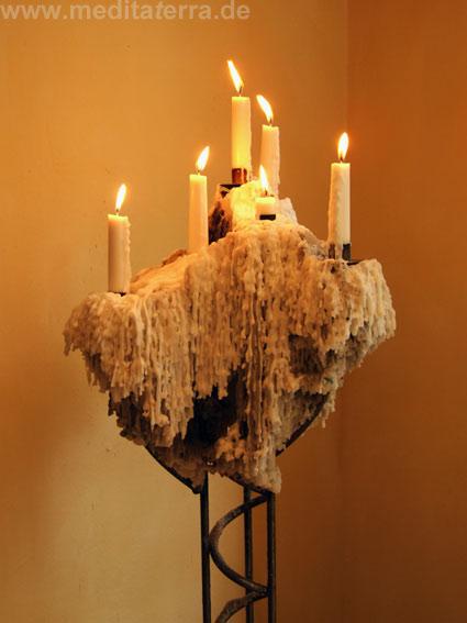 Romantischer Kerzenständer