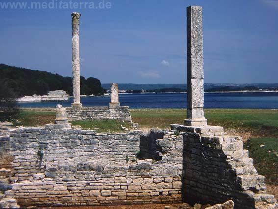 Brijuni-Inseln vor der Südspitze Istriens