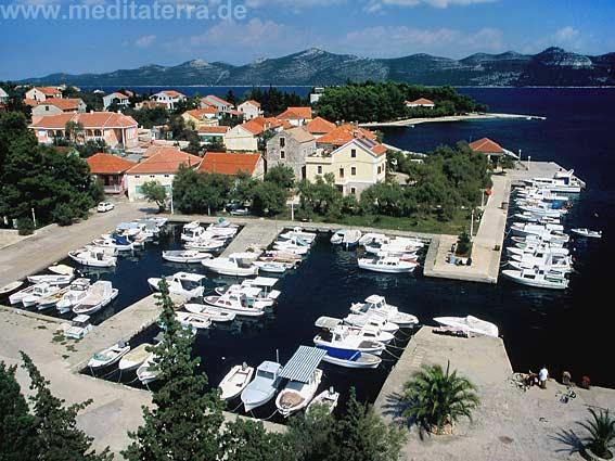 Yachthafen in Dalmatien