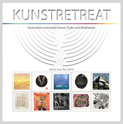 """Geschenkbuch """"Kunstretreat 2016"""""""