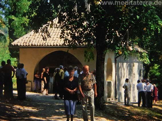 Beram Kapell auf Istrien, Kroatien
