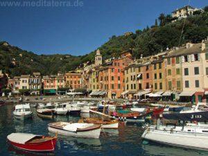 Fischerhafen in Portofino