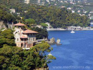 Am Küstenweg von Portofino nach St. Margarita