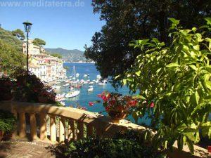 Portofino: Auf dem Weg zum Castello Brown