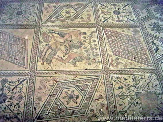 Römisches Mosaik in Pula