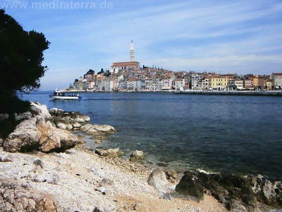 Halbinsel Rovinj auf Istrien