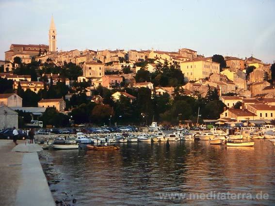 Fischerort Vrsar an der Westküste Istriens
