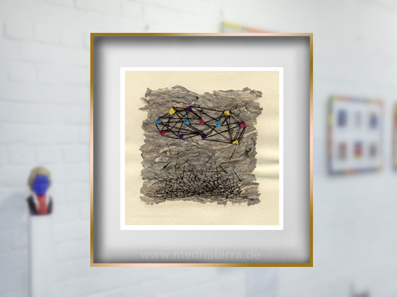 Jennifer d'Entremonts Collage. artist, Canada