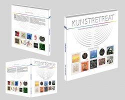 """Geschenkbuch """"Kunstretreat"""" mit 205 Kunstbildern aus aller Welt, Haiku-Gedichten, Skulpturen und Musik sowie Tipps zum Wohnen, Kunstmeditation und Weinmeditation"""