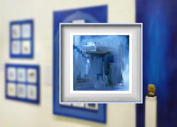 """Klein ist groß: Margaret E. Grahams Acryl-Bild hat eine """"Ehrenvolle Erwähnung"""" der Internationalen Kunstinstallation 2016 gewonnen!"""