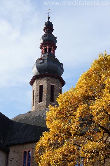 Turm der Martinskirche in Cochem