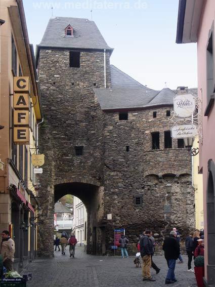 Das Enderttor in Cochem an der Mosel