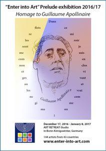 Ausstellungsflyer - Bernsteinrose-Blog, Sponsern
