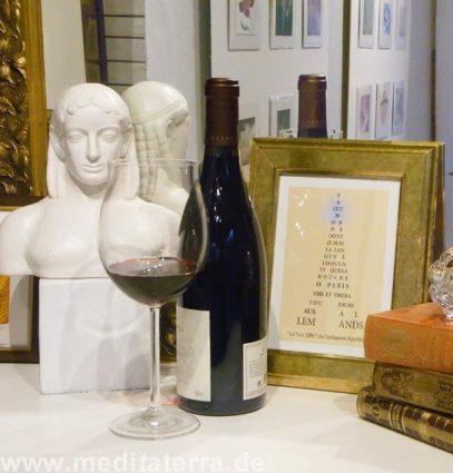 Genussmeditation: Kunst und Wein achtsam genießen