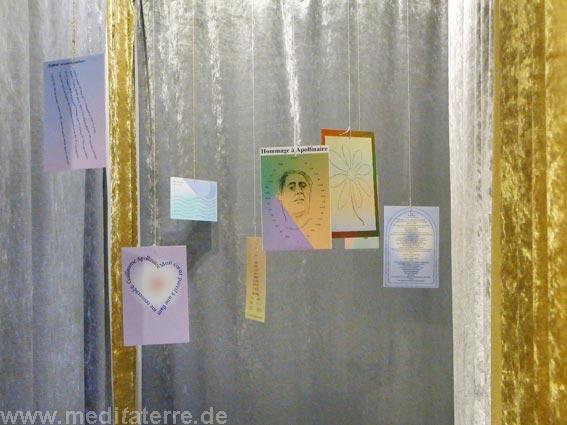 Lyrik und Poesie im sibergoldenen Wandelgang des Kunstretreat-Studios