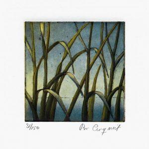 """Bo Cronqvist, 3, Sweden, """"The Ocean"""", 2010, Etching, 10 x 10 cm"""