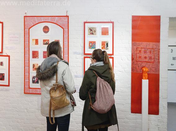 Faszination weltweiter Kunst und Farbe, Ausstellungseröffnung in Köln