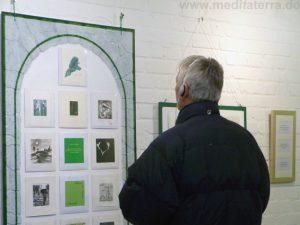 Kunstevent par excellence: Achtsam kleinformatige Kunstbilder betrachten und mit entspannender Musik genießen