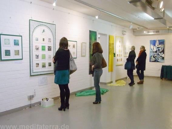 """Internationales Kunstevent """"Faszination weltweiter Kunst, Farbe und Meditation"""""""