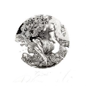 Petar Chinovsky 12, Bulgaria, Wind, 2014, Algraphy (L4), 9 x 9 cm
