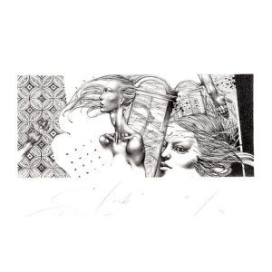 Petar Chinovsky 13, Bulgaria, Touch, 2014, Algraphy (L4), 5.5 x 13 cm