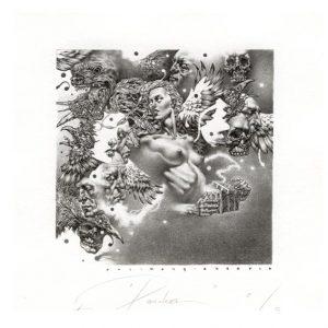 Petar Chinovsky 6, Bulgaria, Pandora, 2016, Algraphy (L4), 10 x 10 cm