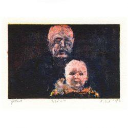 Adam Czech 2, Poland, Gesture, 2012, Algraphy, 8,8 x 13 cm