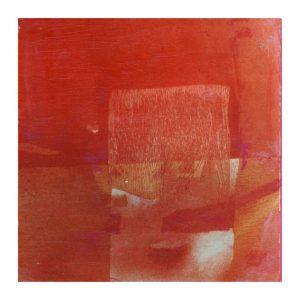 Ana Lorenzen 2, Sweden, Red Desert, 2016, Mixed, 13 x 13 cm