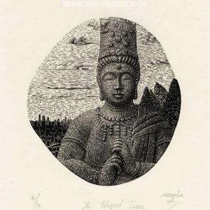 Atsushi Matsuoka 2, Japan, The Elapsed Times, 2014, Wood Engraving, 12.7 x 10.5 cm, 102