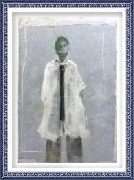 Chiri Kuroiwa 3, Japan, SUITS, 2015, Mixed, 116.7 x 80.3 cm