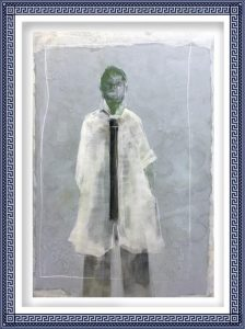 Chiri Kuroiwa 3, Japan, SUITS, 2015, Mixed, 116.7 x 80.3 cm