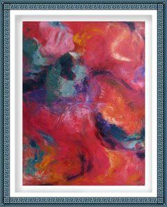 Eileen Tavolacci 2, USA, Realization, 2013, Oil on Linen, 101.6 x 76.2 cm