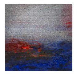 Ellen Bittner 1, Austria, Little Night Music, 2016, Vanish, Mixed Media, 13 x 13 cm